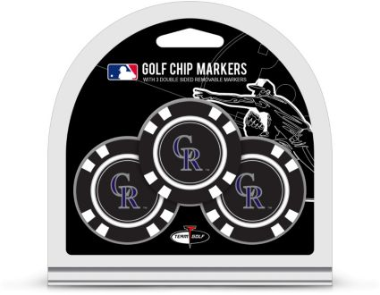 Team Golf Colorado Rockies Golf Chips - 3 Pack