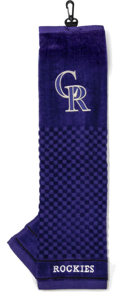 Team Golf Colorado Rockies Embroidered Golf Towel