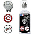 Team Golf Cincinnati Reds Cap Clip and Marker Set