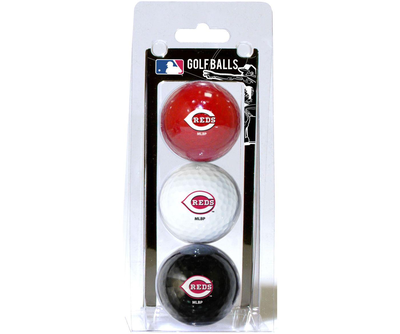 Team Golf Cincinnati Reds Golf Balls - 3 Pack