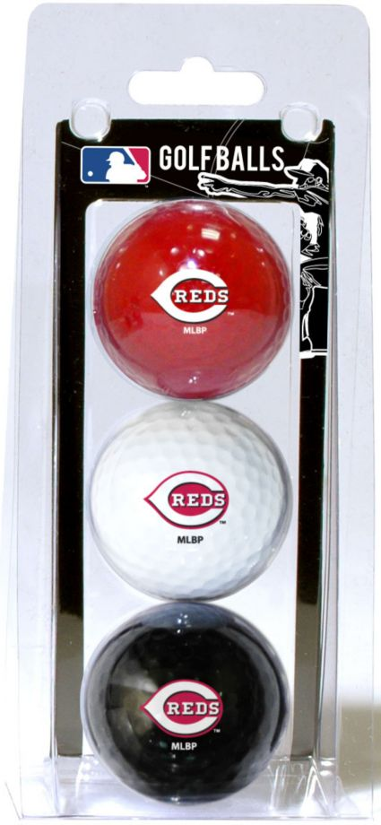 Team Golf Cincinnati Reds Golf Balls - 3 Pack