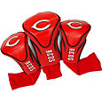 Team Golf Cincinnati Reds Contoured Headcovers - 3-Pack