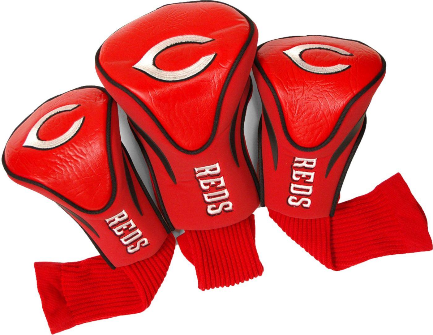 Team Golf Cincinnati Reds Contour Sock Headcovers - 3 Pack