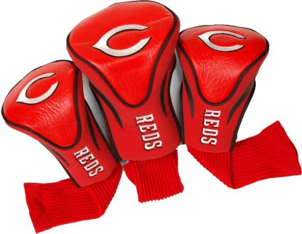 Team Golf Cincinnati Reds Contour Sock Headcovers - 3 Pack