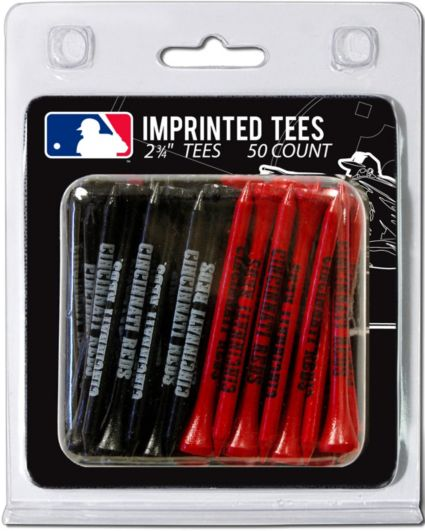 Team Golf Cincinnati Reds 2.75'' Golf Tees - 50 Pack