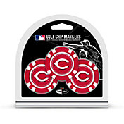 Team Golf Cincinnati Reds Poker Chips Ball Markers - 3-Pack
