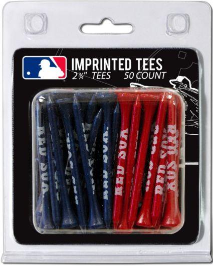 "Team Golf Boston Red Sox 2 3/4"" Golf Tees - 50 Pack"