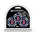 Team Golf Boston Red Sox Poker Chips Ball Markers - 3-Pack