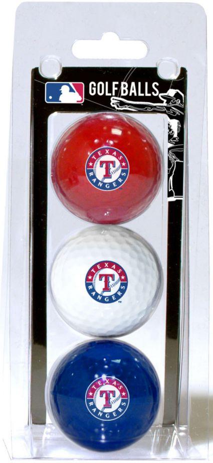 Team Golf Texas Rangers Golf Balls - 3-Pack