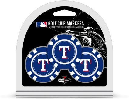 Team Golf Texas Rangers Golf Chips - 3 Pack