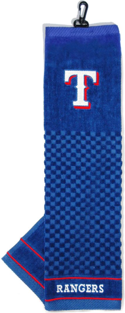 Team Golf Texas Rangers Embroidered Towel