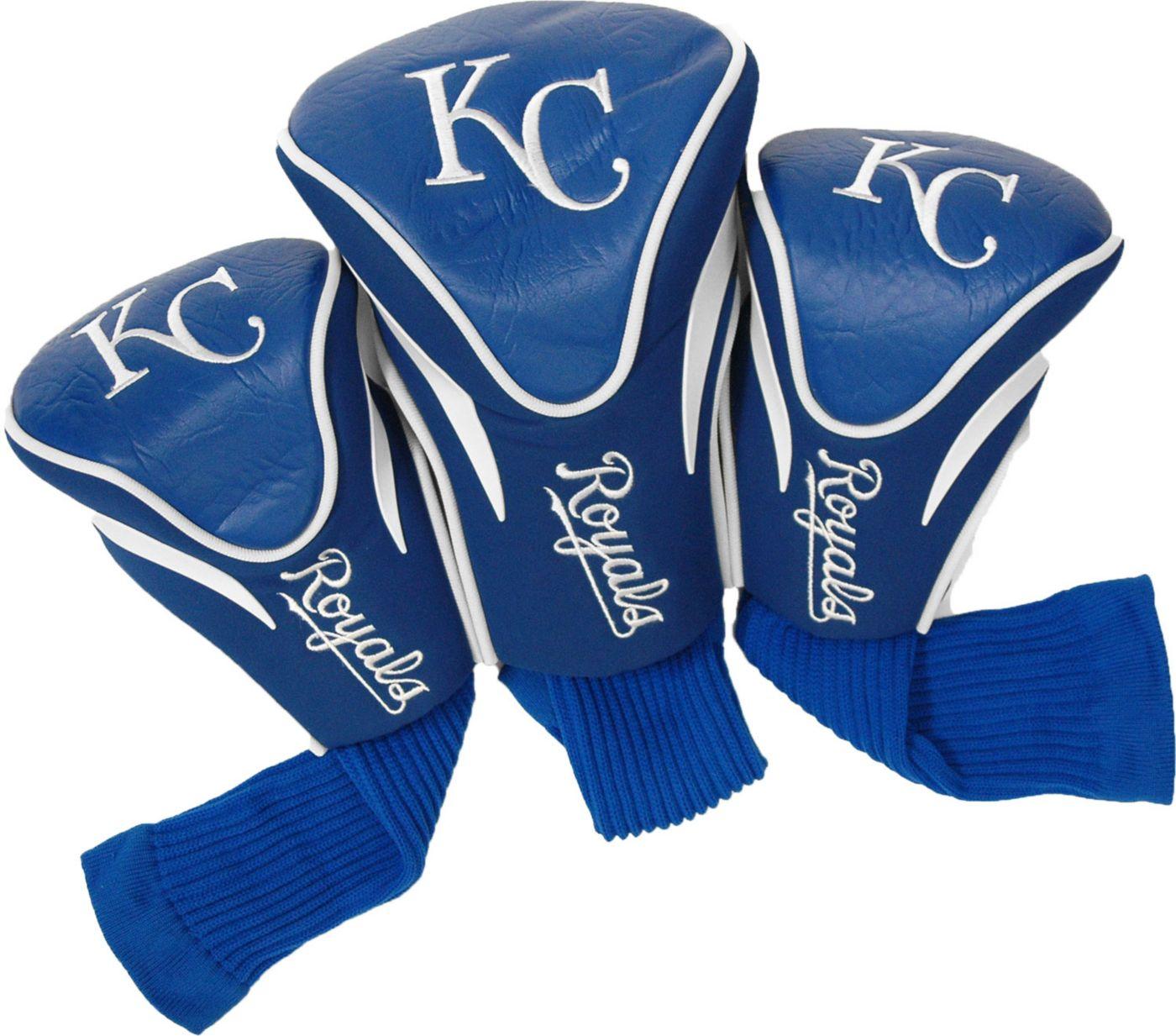 Team Golf Kansas City Royals Contour Sock Headcovers - 3 Pack