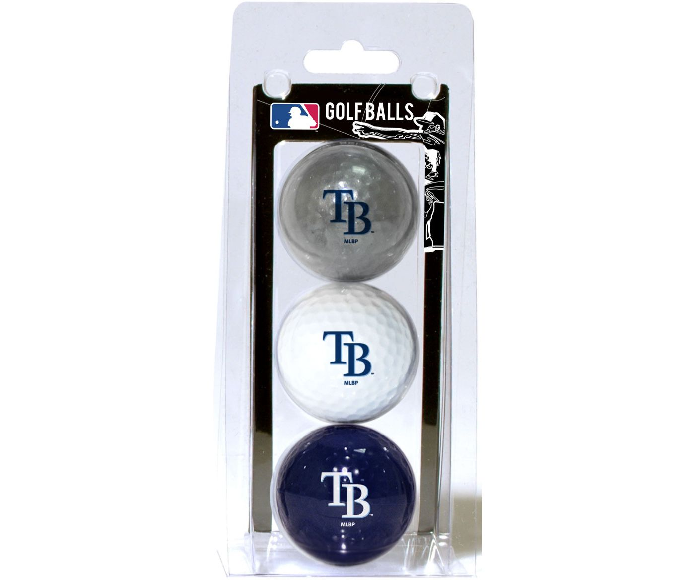 Team Golf Tampa Bay Rays Golf Balls - 3-Pack