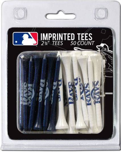 Team Golf Tampa Bay Rays 2.75'' Golf Tees - 50 Pack