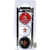 Team Golf Houston Astros Golf Balls - 3-Pack