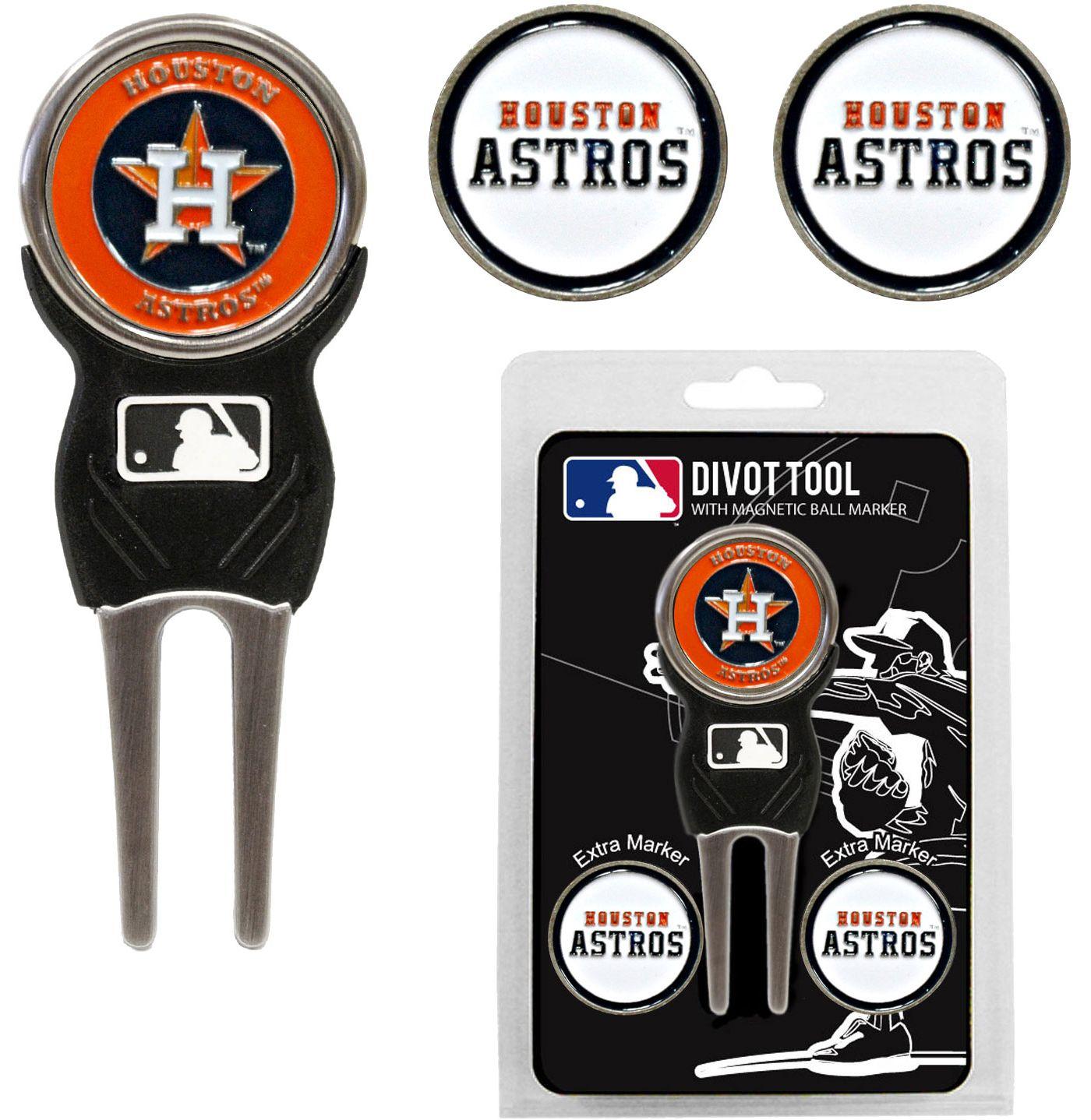 Team Golf Houston Astros Divot Tool and Marker Set