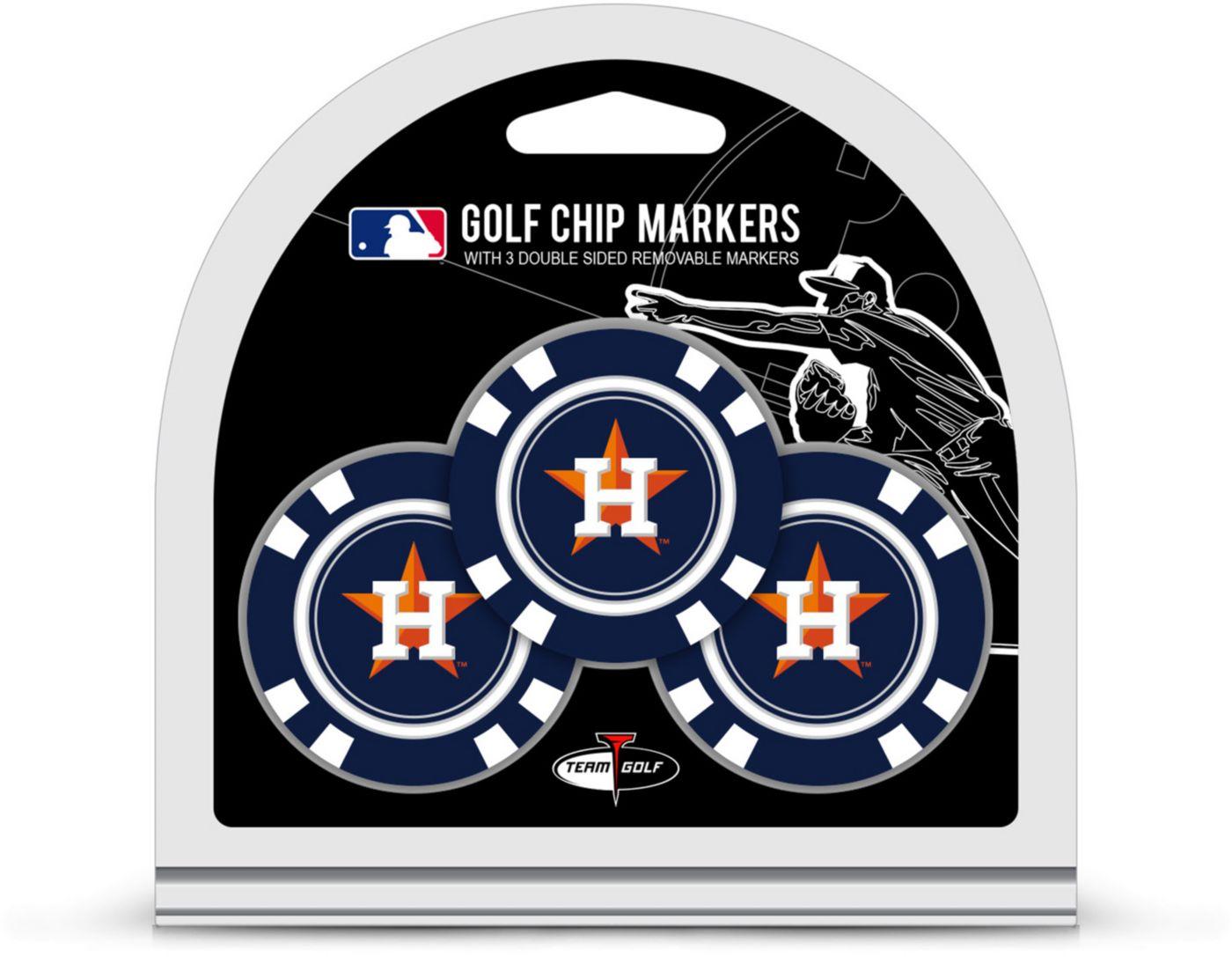 Team Golf Houston Astros Golf Chips - 3 Pack