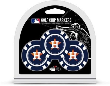 Team Golf Houston Astros Golf Chips - 3 Pack