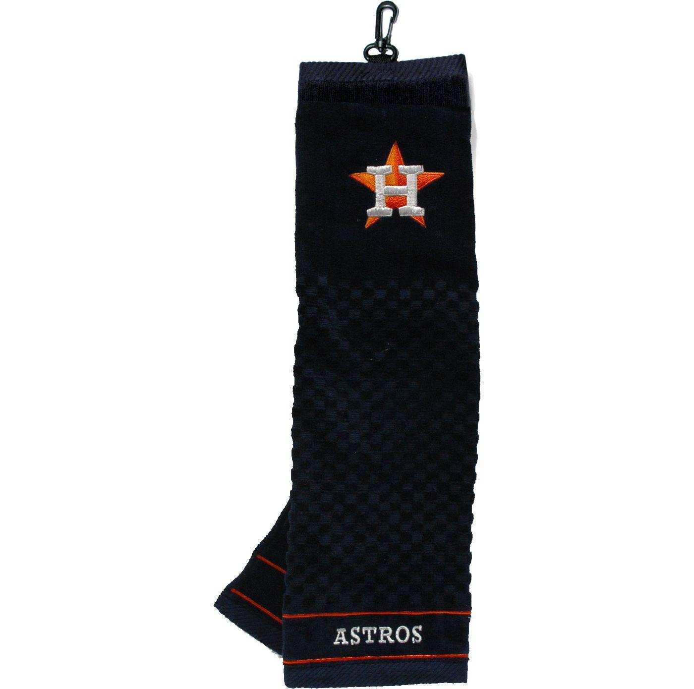Team Golf Houston Astros Embroidered Golf Towel