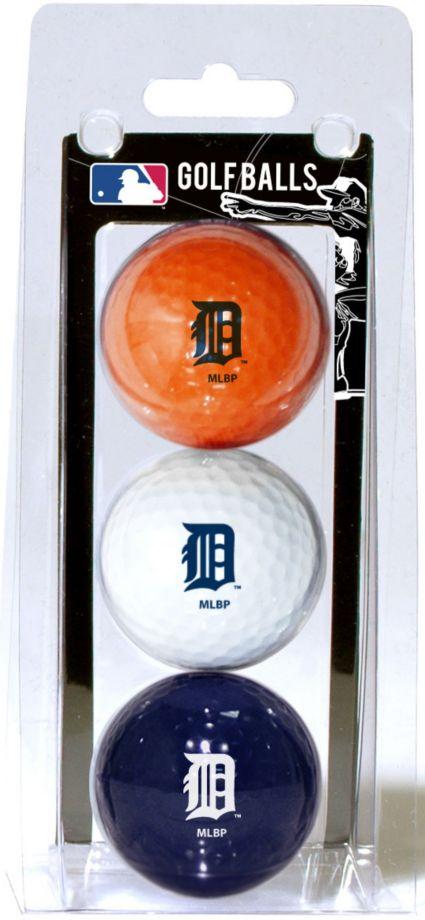 Team Golf Detroit Tigers Golf Balls - 3 Pack