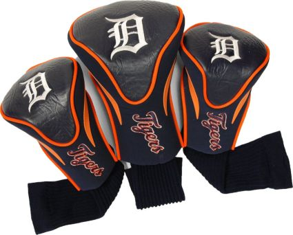 Team Golf Detroit Tigers Contour Sock Headcovers - 3 Pack