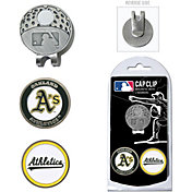 Team Golf Oakland Athletics Cap Clip and Marker Set