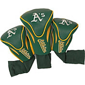 Team Golf Oakland Athletics Contoured Headcovers - 3-Pack