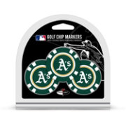 Team Golf Oakland Athletics Poker Chips Ball Markers - 3-Pack