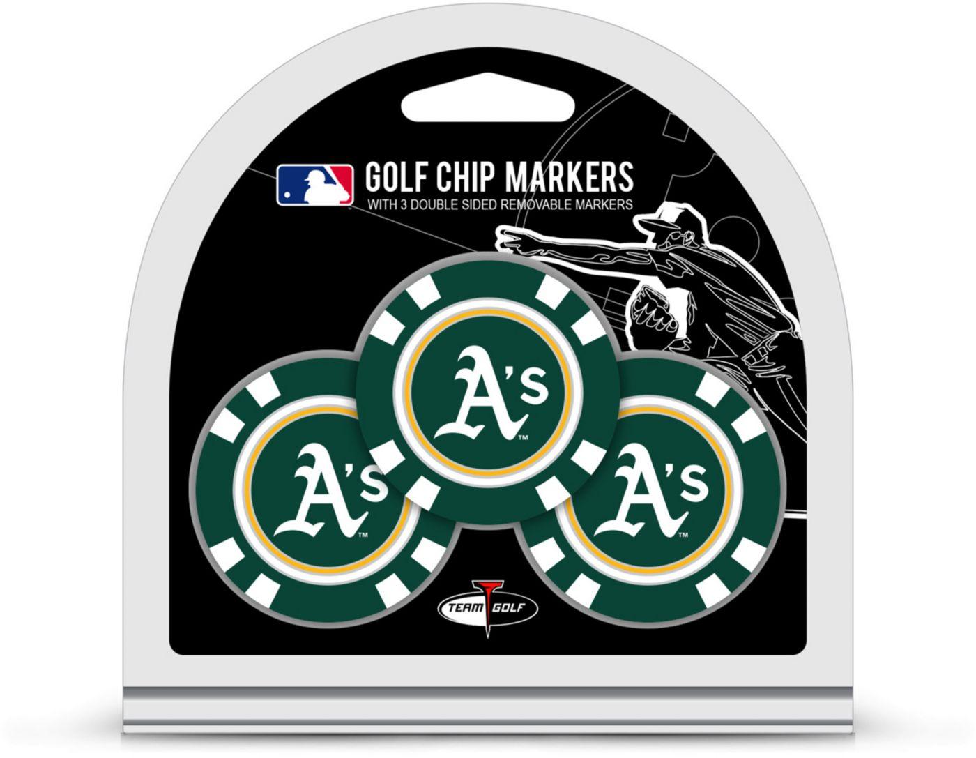 Team Golf Oakland Athletics Golf Chips - 3 Pack