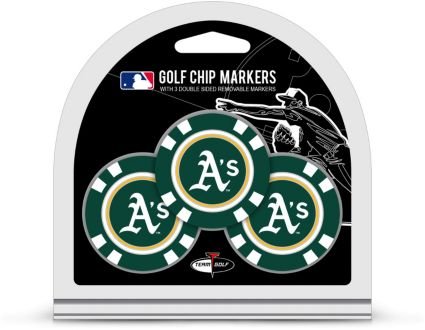 Team Golf Oakland Athletics Golf Chips - 3 Pack
