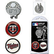 Team Golf Minnesota Twins Cap Clip and Marker Set