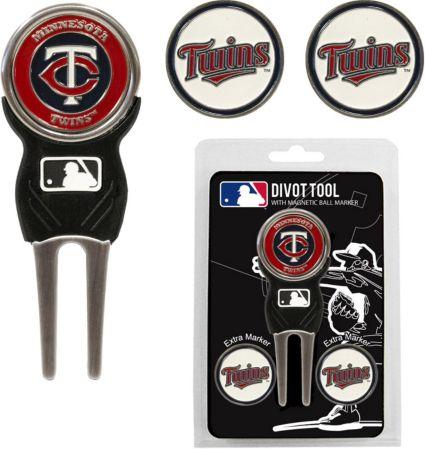 Team Golf Minnesota Twins Divot Tool and Marker Set