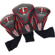 Team Golf Minnesota Twins Contoured Headcovers - 3-Pack