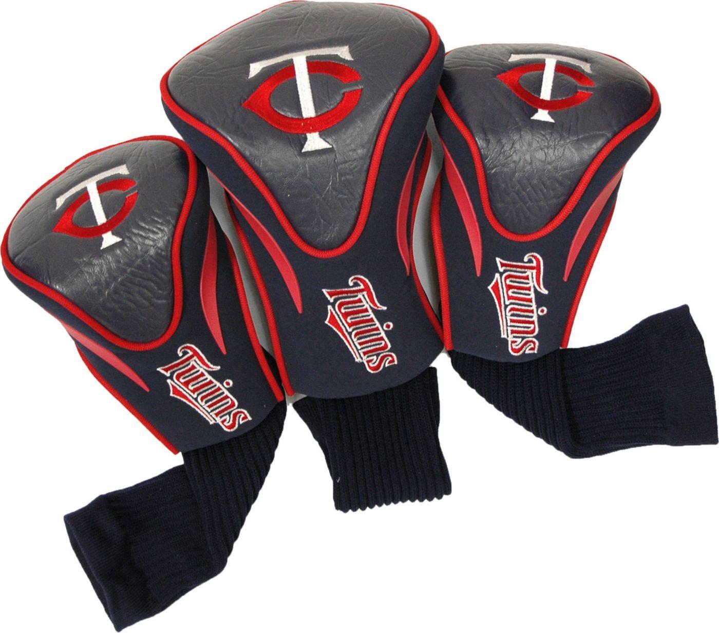 Team Golf Minnesota Twins Contour Sock Headcovers - 3 Pack