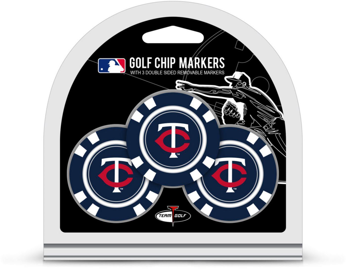 Team Golf Minnesota Twins Golf Chips - 3 Pack