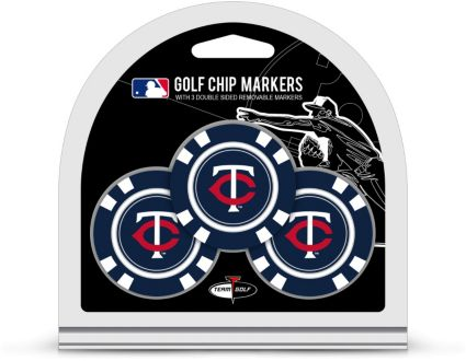 Team Golf Minnesota Twins Golf Chips - 3 Pack