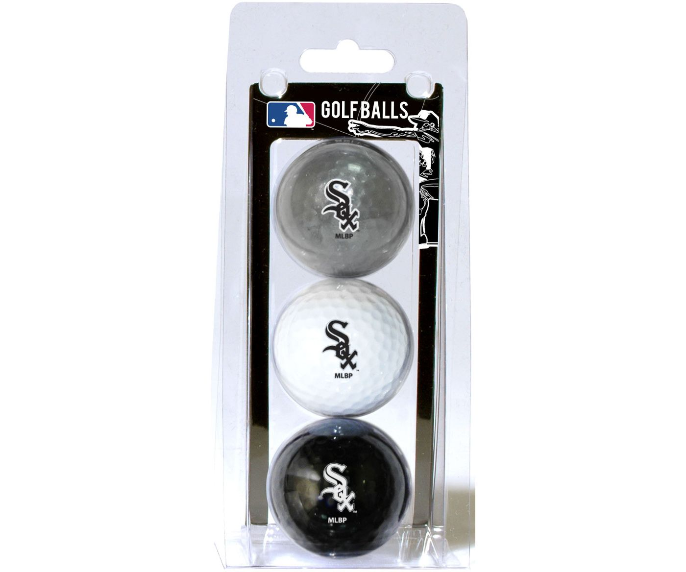 Team Golf Chicago White Sox Golf Balls - 3-Pack