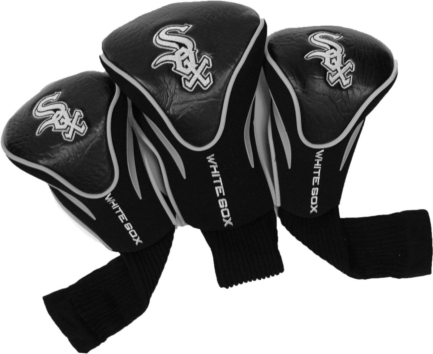 Team Golf Chicago White Sox Contour Sock Headcovers - 3 Pack