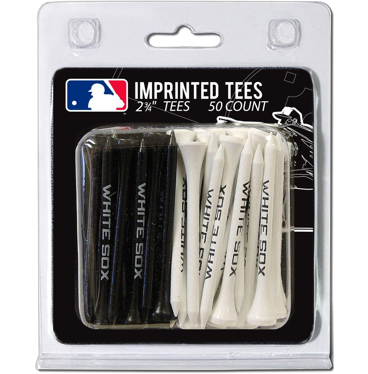 Team Golf Chicago White Sox 2.75'' Golf Tees - 50 Pack