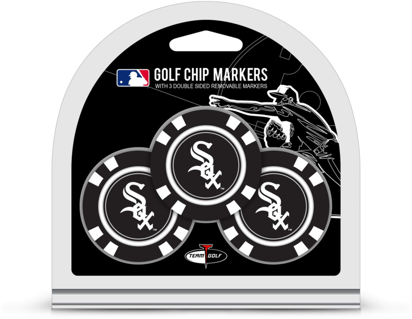Team Golf Chicago White Sox Golf Chips - 3 Pack