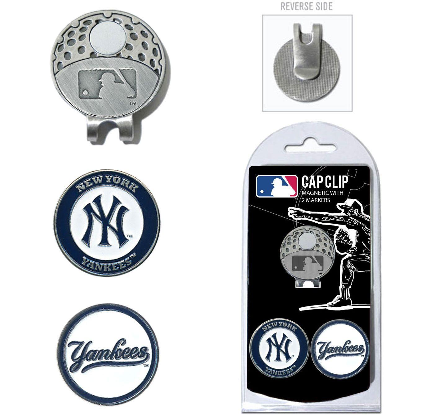 Team Golf New York Yankees Cap Clip