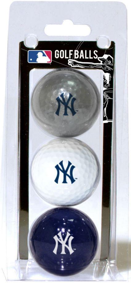 3a60eead4684d9 Team Golf New York Yankees Golf Balls - 3-Pack   DICK'S Sporting Goods