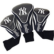 Team Golf New York Yankees Contoured Headcovers - 3-Pack