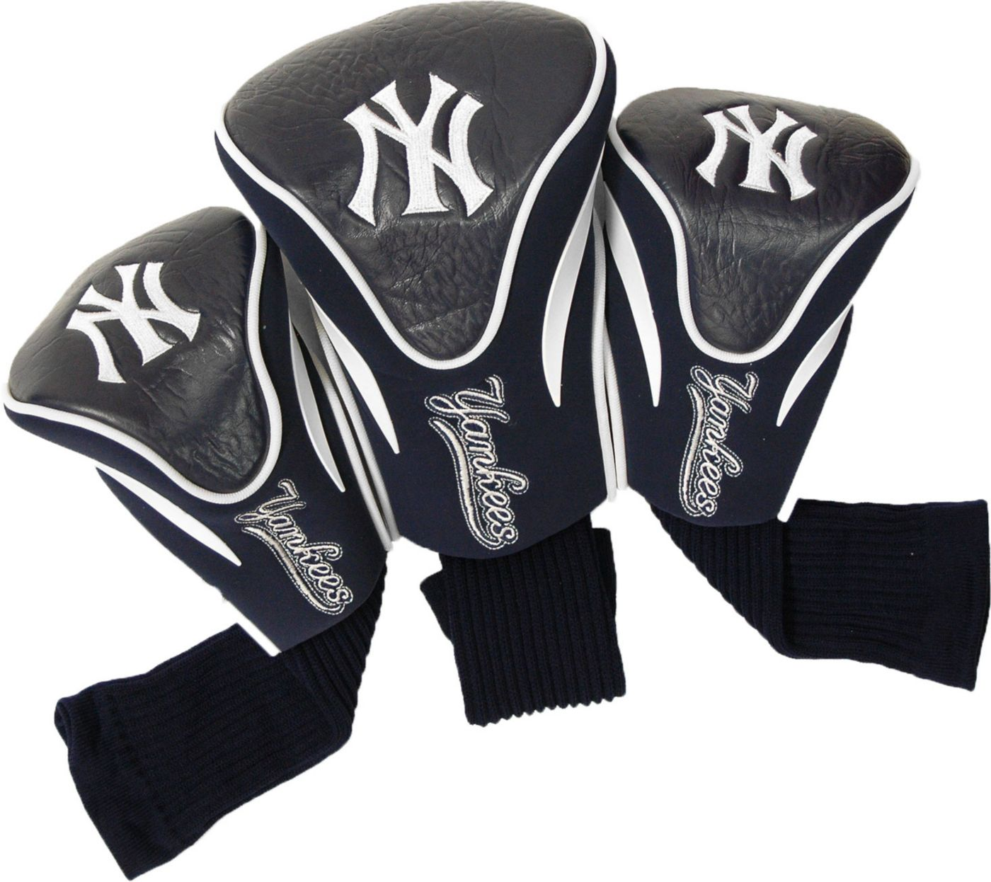 Team Golf New York Yankees Contour Sock Headcovers - 3 Pack