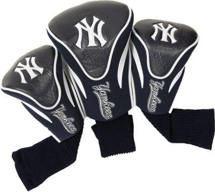 Team Golf New York Yankees Contour Sock Headcovers - 3 Pack