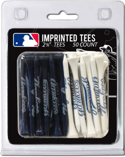 "Team Golf New York Yankees 2 3/4"" Golf Tees - 50 Pack"