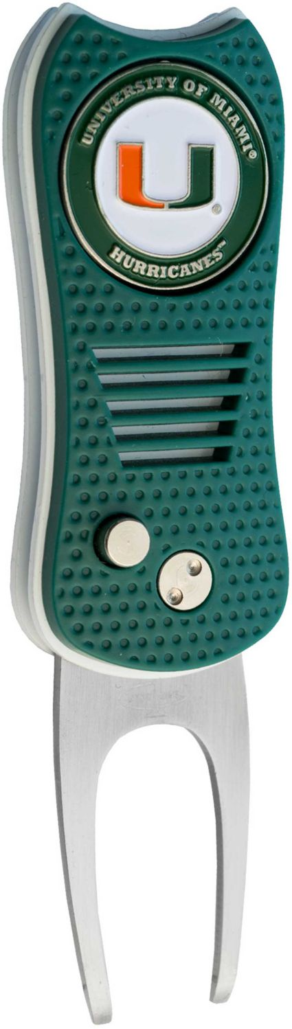 Team Golf Switchfix Miami Hurricanes Divot Tool