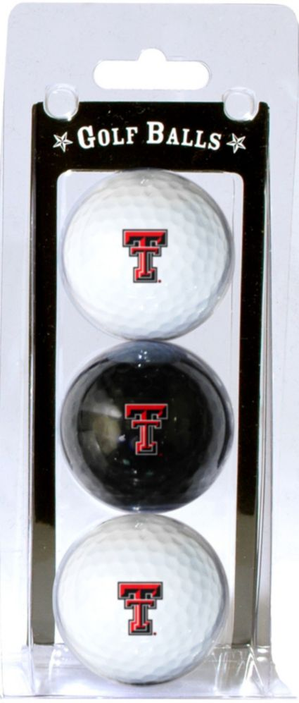 Team Golf Texas Tech Red Raiders Golf Balls - 3-Pack
