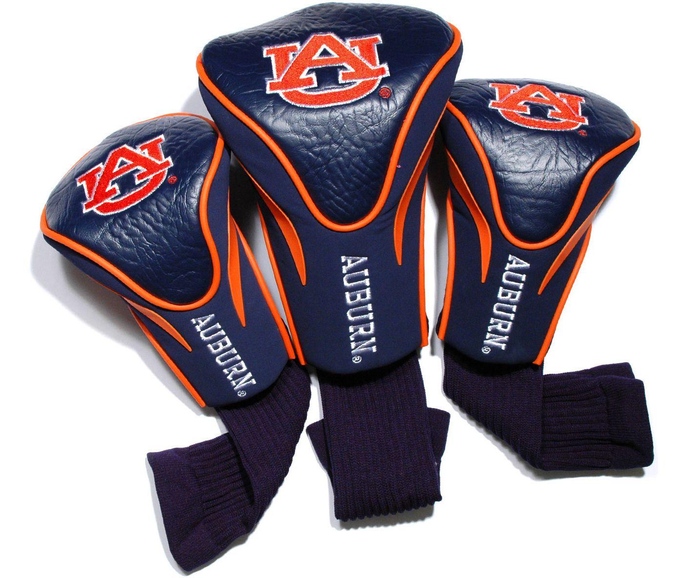 Team Golf Auburn Tigers Contour Sock Headcovers - 3 Pack