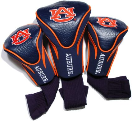 Team Golf Auburn Tigers Contour Sock Headcovers - 3 Pack
